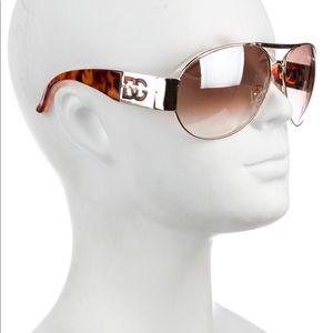 D&G Aviator Gradient Sunglasses